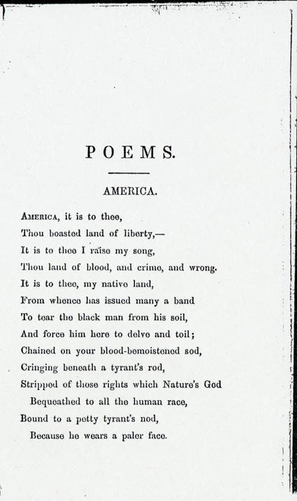 James m whitfield 39 s america and other poems america for 101 great american poems table of contents